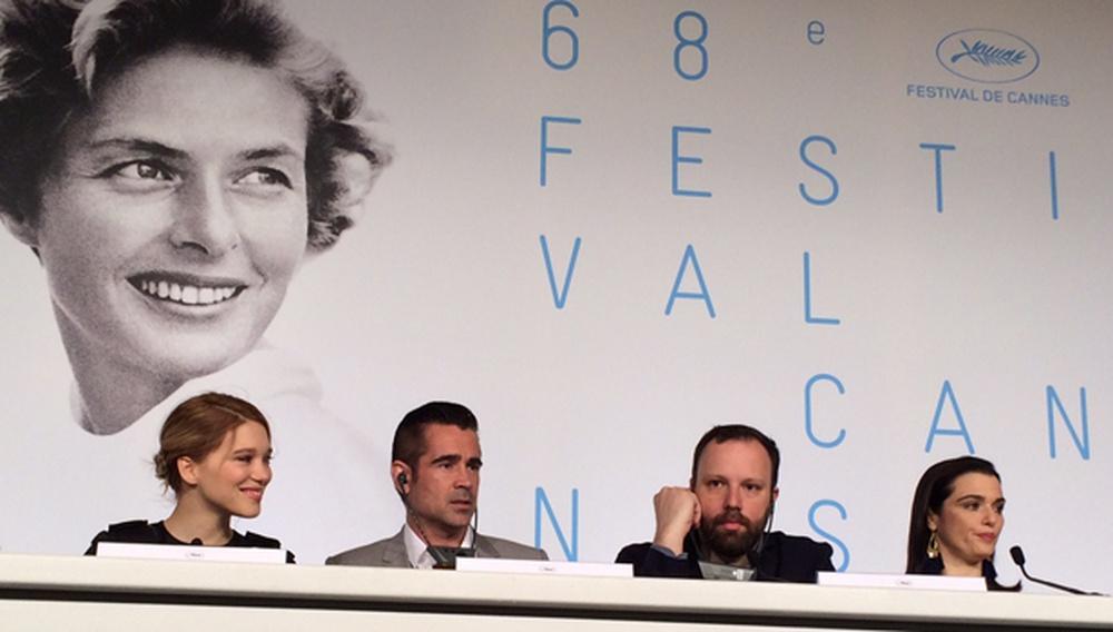 Κάννες 2015: Οσα είπαν ο Γιώργος Λάνθιμος και οι ηθοποιοί του στη συνέντευξη Τύπου του «The Lobster»