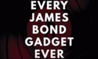 Ολα τα gadgets όλων των Τζέιμς Μποντ μέσα σε 17 λεπτά