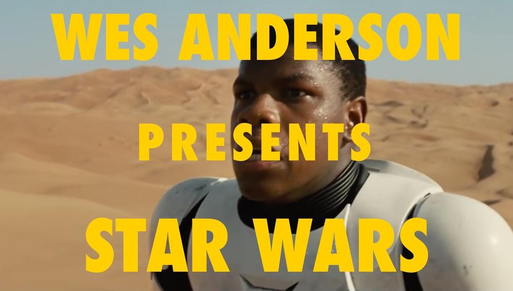 Κι αν το teaser του «Star Wars: The Force Awakens» το σκηνοθετούσε ο... Γουές Αντερσον;