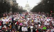 «Θέλω πίσω την κονκάρδα μου»! Ολα όσα συνέβησαν στο φετινό Women's March