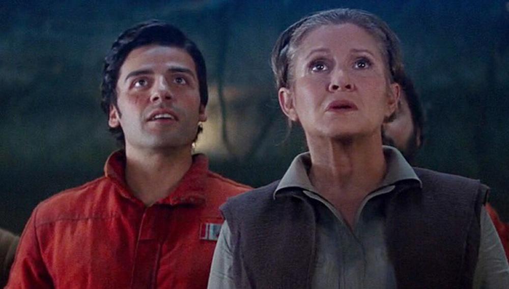 Ο Οσκαρ Αϊζακ θυμάται τις σφαλιάρες που έφαγε από την Κάρι Φίσερ στα γυρίσματα του «The Last Jedi»