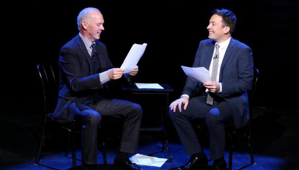 Οι Τζίμι Φάλον & Μάικλ Κίτον διαβάζουν σενάρια παιδιών με ήρωα τον «Birdman»