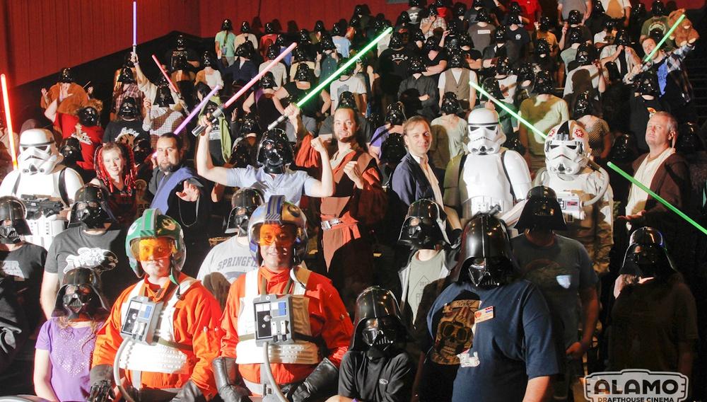 Μπορείτε να κερδίσετε τον Star Wars διαγωνισμό των Alamo Cinemas;