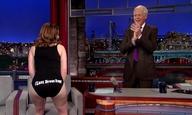 To «γυμνό» αντίο της Τίνα Φέι στον Ντέιβιντ Λέτερμαν!