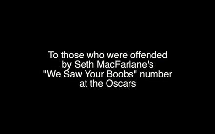 «We Saw Your Junk»: το τραγούδι απάντηση στο «We Saw Your Boobs» του Σεθ ΜακΦάρλαν!