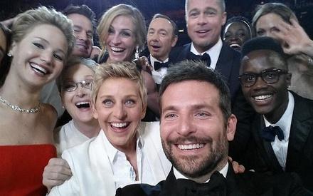 1 δις δολάρια έφτασε το «selfie» των Οσκαρ