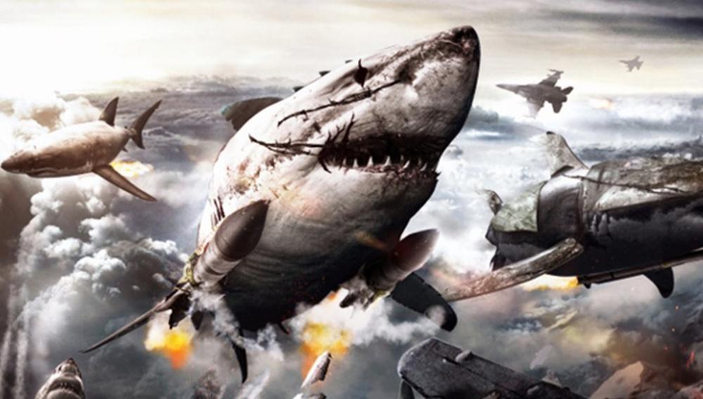 Ιπτάμενοι. Ναζί. Καρχαρίες. Το τρέιλερ του «Sky Sharks» τερματίζει την έννοια του b-movie