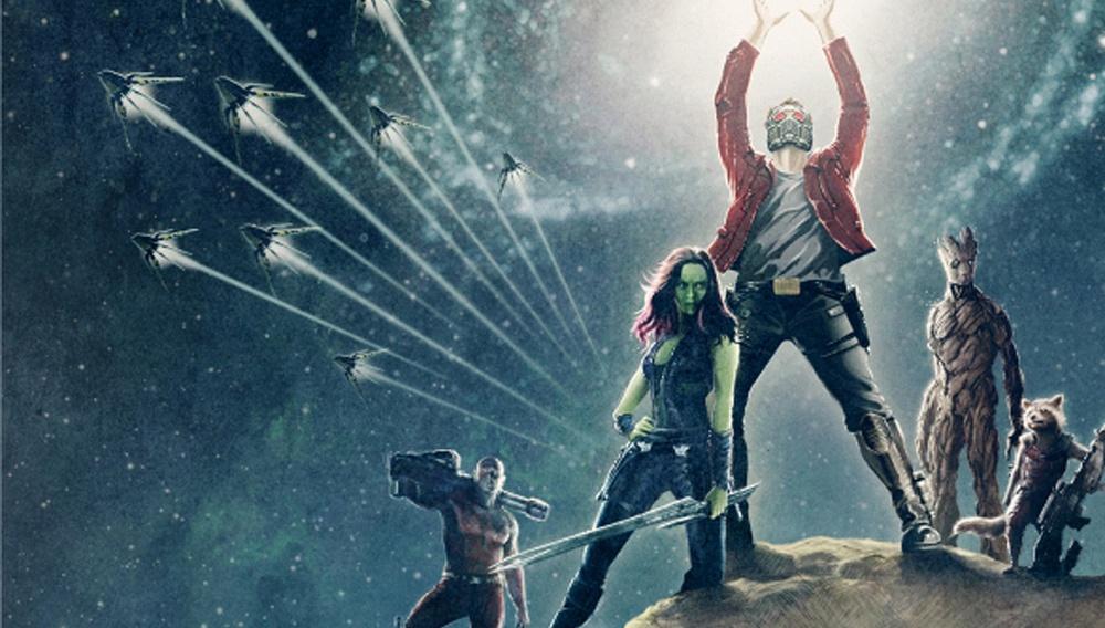 Ενας γαλαξίας από πόστερ για το «Guardians of the Galaxy»