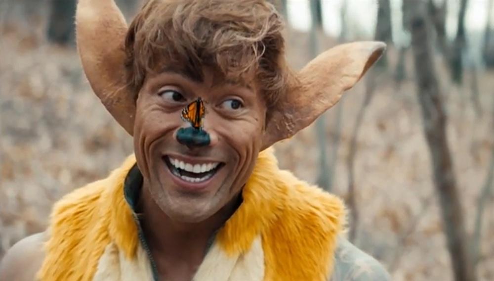 Ο The Rock είναι ο Bambi το Ελαφάκι που θέλεις να χαϊδέψεις;