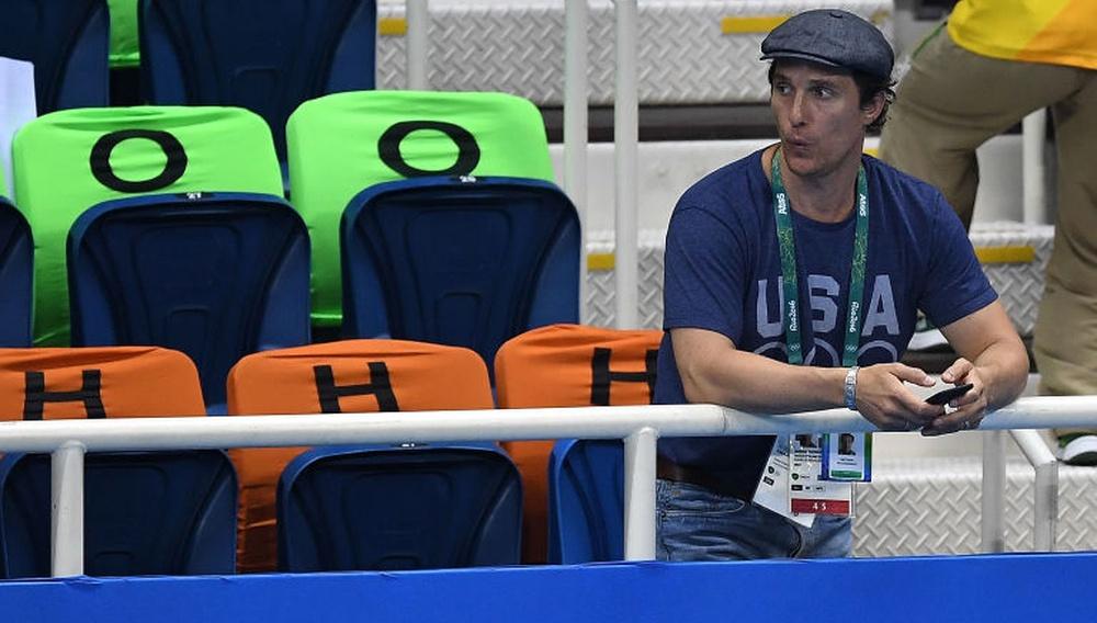 Ο Μάθιου ΜακΚόναχεϊ είναι ο μεγαλύτερος φαν των Ολυμπιακών Αγώνων στο Ρίο!