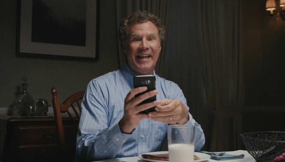 Ο Γουίλ Φέρελ πρωταγωνιστεί σε διαφημίσεις που σε καλούν να κλείσεις το κινητό σου