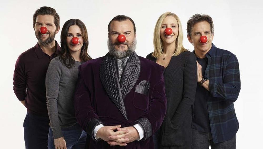 Red Nose Day: ο Τζακ Μπλακ κλείνει τα «Φιλαράκια» του σε ένα escape room