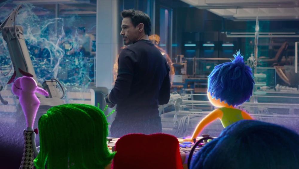 Οταν τα συναισθήματα του «Inside Out», είδαν το «Avengers: Age of Ultron»