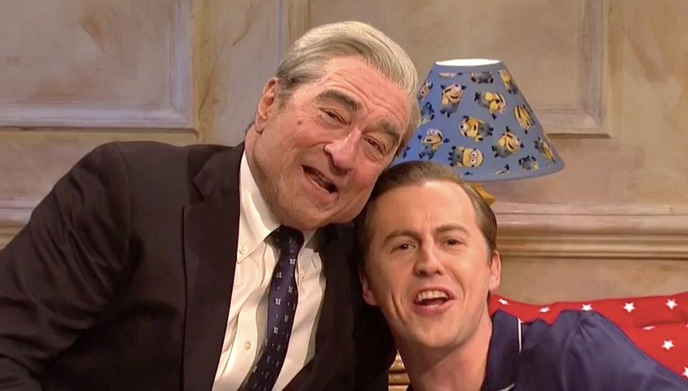 Ο Ρόμπερτ Ντε Νίρο κλέβει την παράσταση στο Saturday Night Live