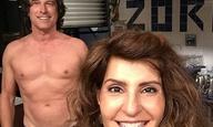 Δεν το ζήτησε κανείς, αλλά η Νία Βαρντάλος τέλειωσε τα γυρίσματα του «My Big Fat Greek Wedding 2»!