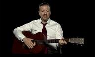 Ο Ρίκι Τζερβέιζ μας μαθαίνει κιθάρα στο YouTube