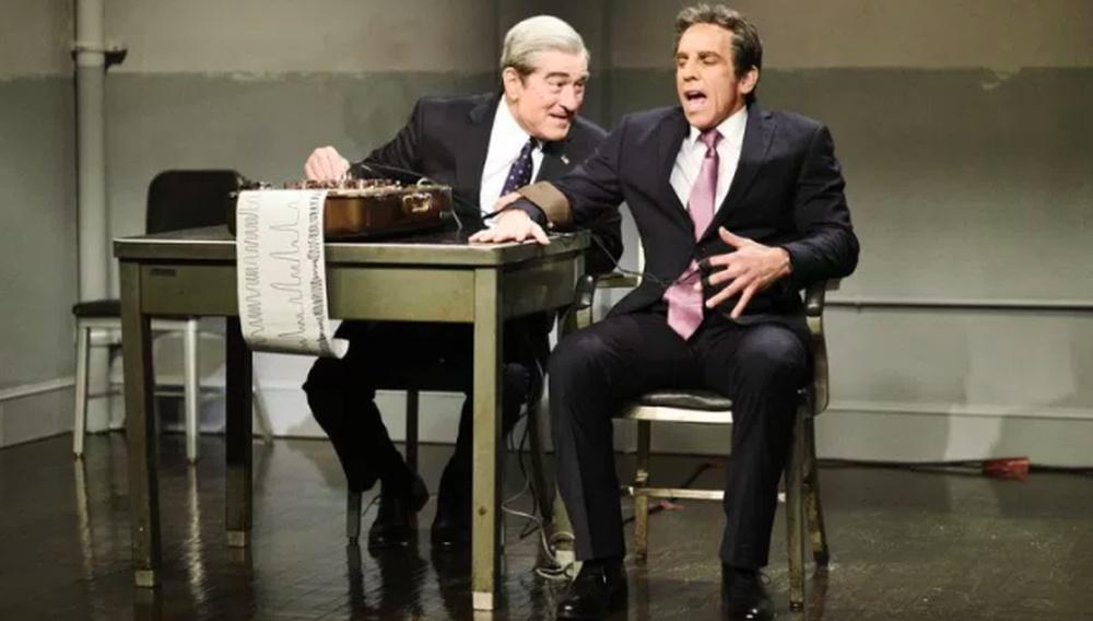 Οι Μπεν Στίλερ & Ρόμπερτ Ντε Νίρο ξανασυναντιούνται σε σκετς-έκπληξη του SNL