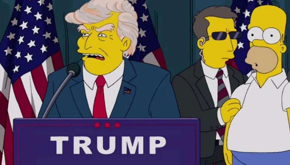 Οι Simpsons είχαν προβλέψει την εκλογή του Ντόναλντ Τραμπ, δεκαέξι χρόνια πριν!