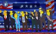 Ο εφιάλτης των αμερικάνικων προεδρικών εκλογών με τη ματιά των Simpsons