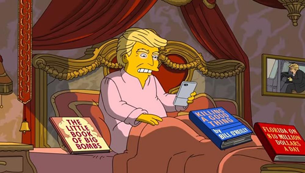 Οι «Simpsons» γιορτάζουν τις 100 πρώτες μέρες θητείας του Ντόναλντ Τραμπ