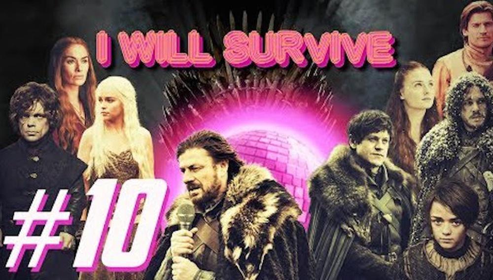 To καστ του «Game of Thrones» τραγουδάει «I Will Survive» (προφανώς εννοεί τους δύο τελευταίους κύκλους)