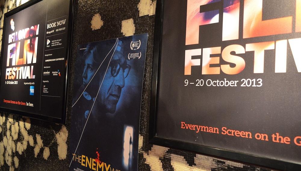 O Γιώργος Τσεμπερόπουλος μας στέλνει καρτ-ποστάλ από το London Film Festival
