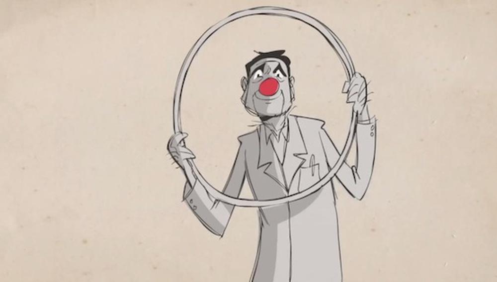 Δείτε τον Ρόμπιν Γουίλιαμς να μιλάει για το πόσο σοβαρά δεν πρέπει να παίρνουμε τον εαυτό μας σε ένα συγκινητικό animation