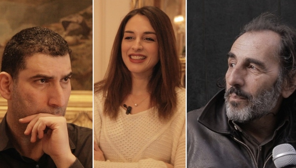 Berlinale 2014: Γιάννης Οικονομίδης, Βαγγέλης Μουρίκης, Βίκυ Παπαδοπούλου στην κάμερα του Flix
