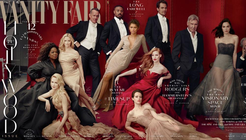 Το εξώφυλλο του Vanity Fair - The Hollywood Issue που μας έμαθε ν' αγαπάμε... το τρίτο πόδι της Ρις Γουίδερσπουν
