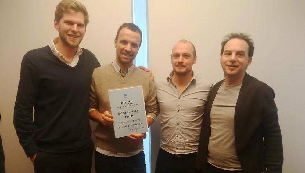 Berlinale 2014: To «Στο Σπίτι» του Αθανάσιου Καρανικόλα κερδίζει το Βραβείο της Οικουμενικής Επιτροπής στο Forum