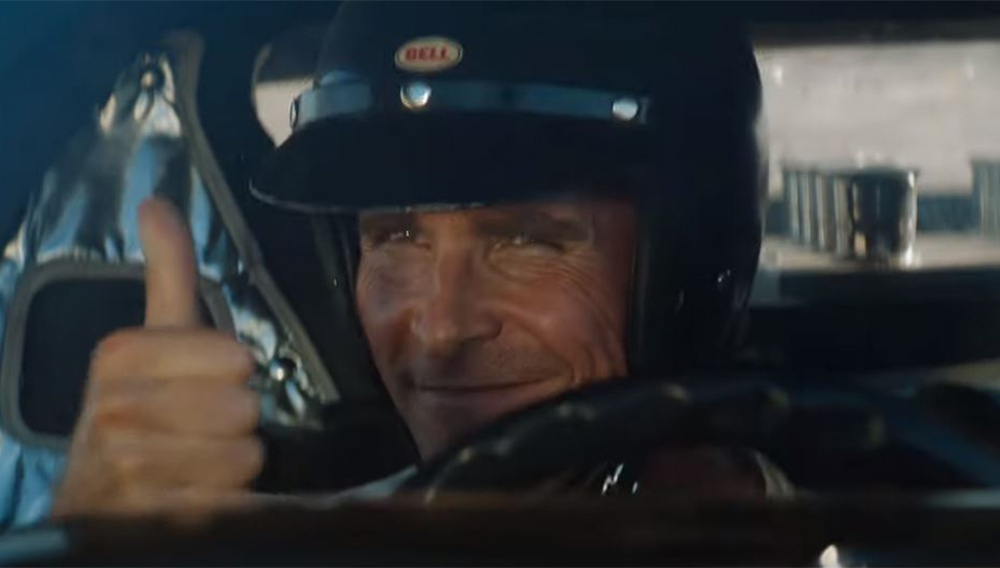 Οι Ματ Ντέιμον & Κρίστιαν Μπέιλ στο τρέιλερ για το «Ford v Ferrari»