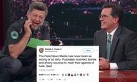 Ο Αντι Σέρκις διαβάζει τα tweets του Ντόναλντ Τραμπ ως... Γκόλουμ