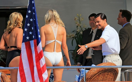 Shooting The Wolf of Wall Street
