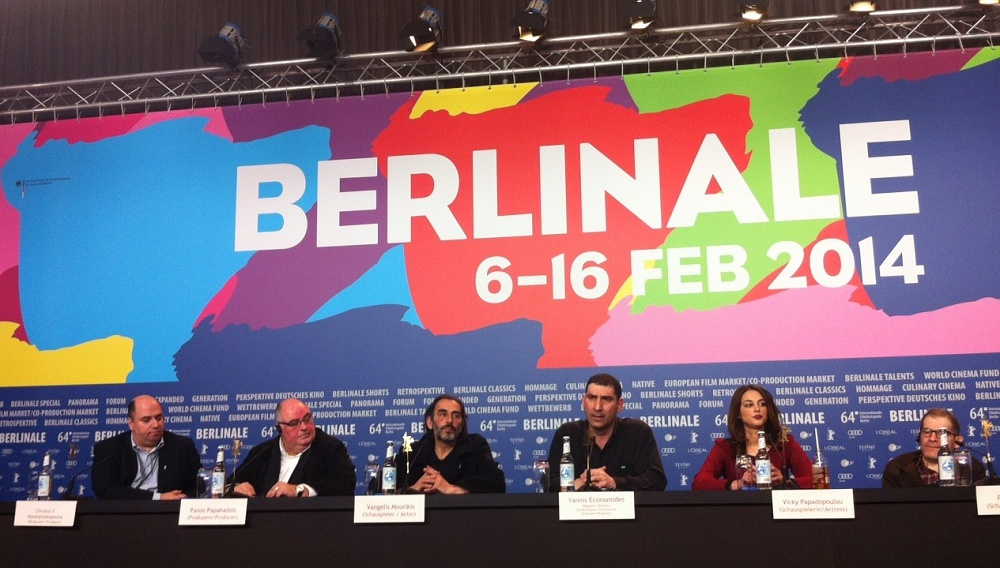 Berlinale 2014: Στη συνέντευξη Τύπου για το «Μικρό Ψάρι» του Γιάννη Οικονομίδη