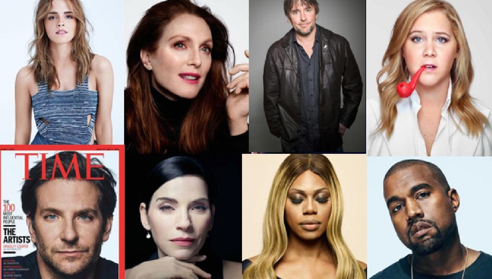 Πόση show biz χώρεσε μέσα στο αφιέρωμα του TIME με τους 100 πιο επιδραστικούς ανθρώπους της χρονιάς;