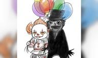 Οταν ο Babadook έγινε gay ζευγάρι με τον Pennywise!
