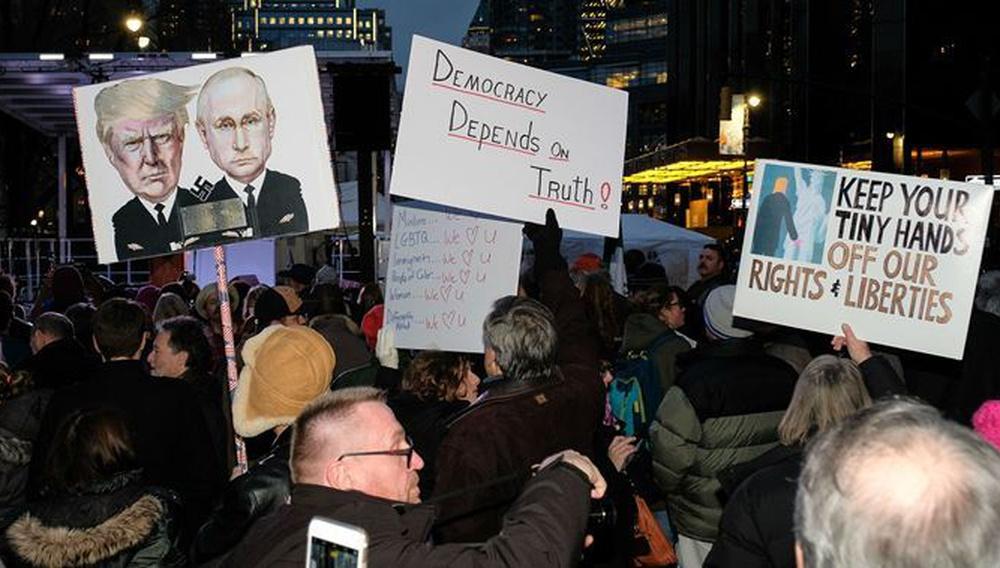 We Stand United: To Xόλιγουντ στέκεται ενωμένο απέναντι στον Ντόναλντ Τραμπ