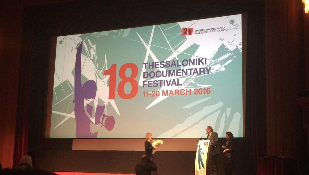18ο Φεστιβάλ Ντοκιμαντέρ Θεσσαλονίκης: Τα βραβεία και ο (απο)χαιρετισμός του Δημήτρη Εϊπίδη