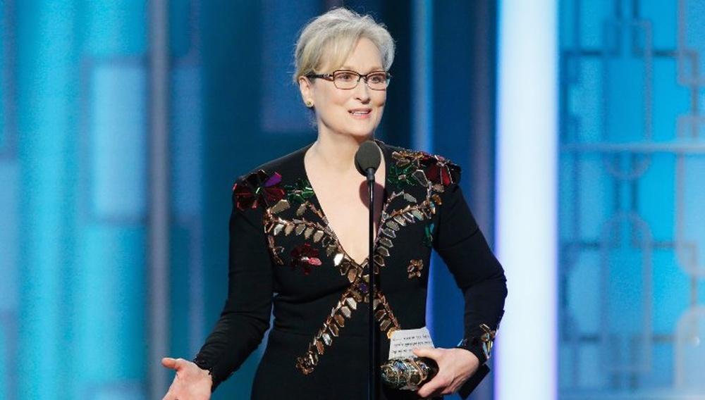 Χρυσές Σφαίρες 2017: Βλέπουμε ξανά και ξανά τον ευχαριστήριο λόγο της Μέριλ Στριπ