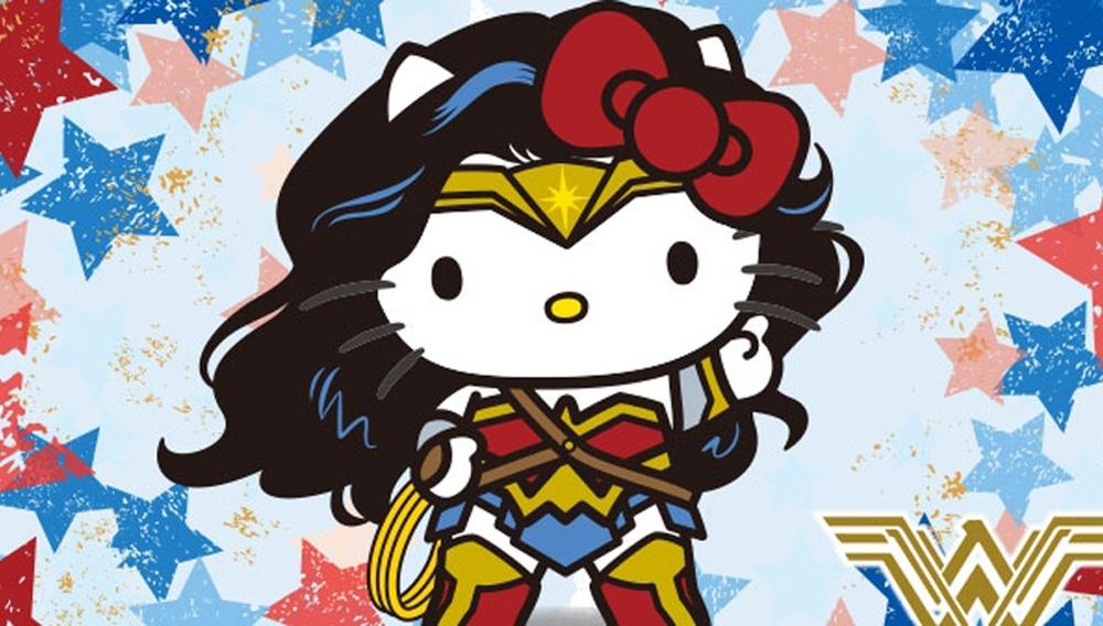 Οταν η Wonder Woman συνάντησε τη Hello Kitty…