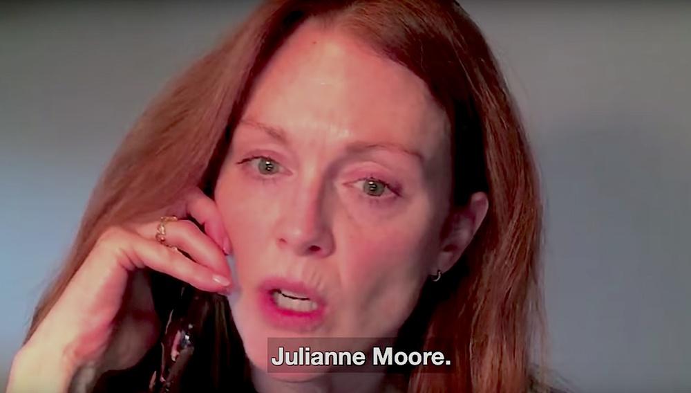 Reject the NRA: δείτε την Τζούλιαν Μουρ, την Εμα Στόουν, τον Moby να τηλεφωνούν στο Κογκρέσο
