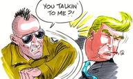 «Ενα υποκείμενο με πολύ χαμηλό IQ»: Ο Ντόναλντ Τραμπ επιτίθεται στον Ρόμπερτ Ντε Νίρο