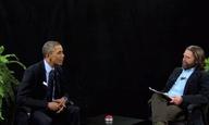 O Μπαράκ Ομπάμα στο Between two Ferns του Ζακ Γαλιφιανάκη. Στ΄ αλήθεια!