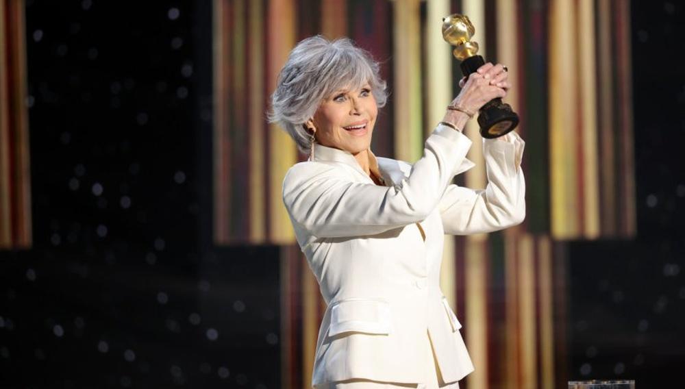 Η Τζέιν Φόντα παραλαμβάνει την τιμητική Χρυσή Σφαίρα υπερασπίζοντας την ισότιμη αντιπροσώπευση στο σινεμά (και τα βραβεία)