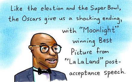 Oscars 2017: Ο Τζίμι Κίμελ εξηγεί τα τελευταία 10 λεπτά της τελετής με το δικό του τρόπο