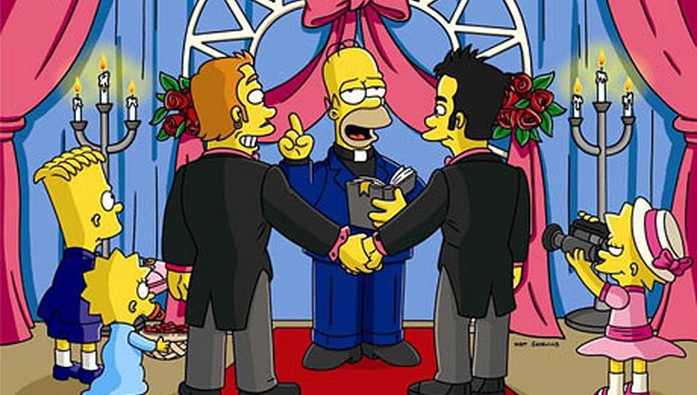 Οι «Simpsons» κάνουν καλό στο outing!