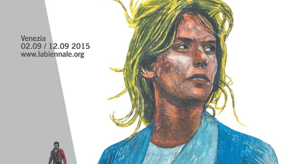 Η Ναστάζια Κίνσκι και ο Ζαν-Πιερ Λεό στην αφίσα του 72ου Φεστιβάλ Βενετίας