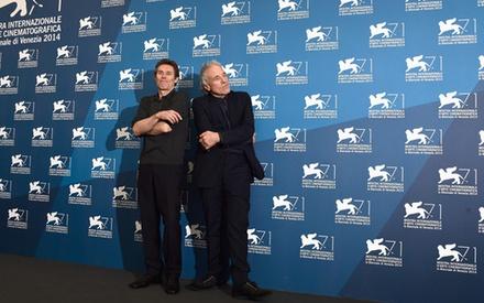 Βενετία 2014: Με τον Εϊμπελ Φεράρα και τον Γουίλεμ Νταφό στη συνέντευξη Τύπου του «Pasolini»