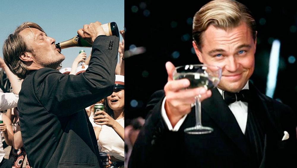 Πίνω και μεθώ όταν ακούω ότι o Λεονάρντο ΝτιΚάπριο ετοιμάζεται για το αμερικανικό «Another Round»