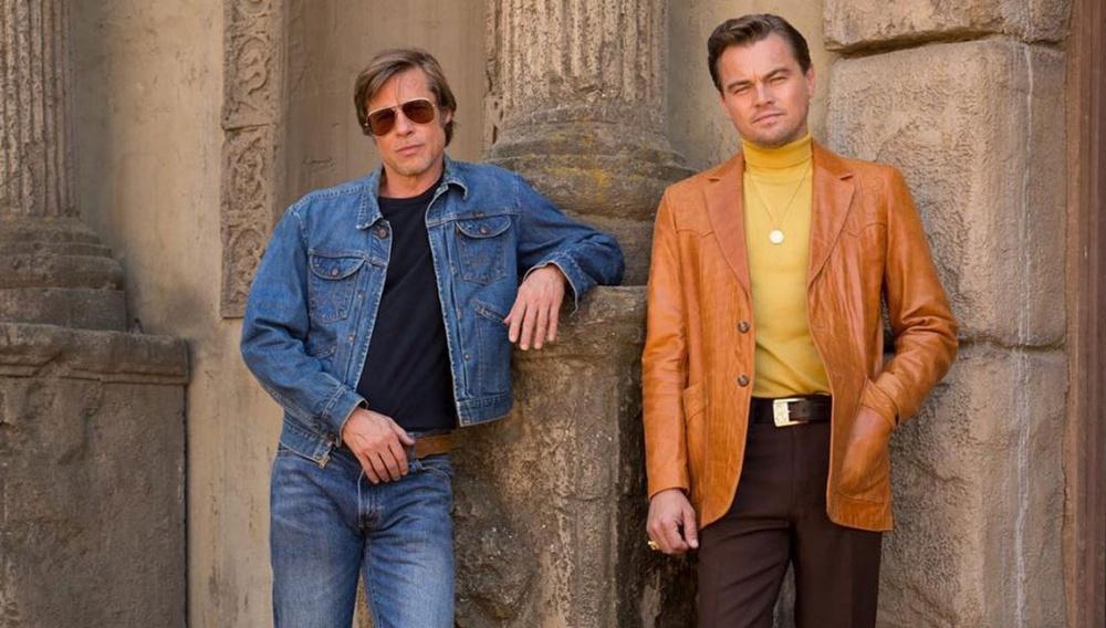 Λεονάρντο Ντι Κάπριο και Μπραντ Πιτ στα γυρίσματα του «Once Upon a Time in Hollywood» του Κουέντιν Ταραντίνο